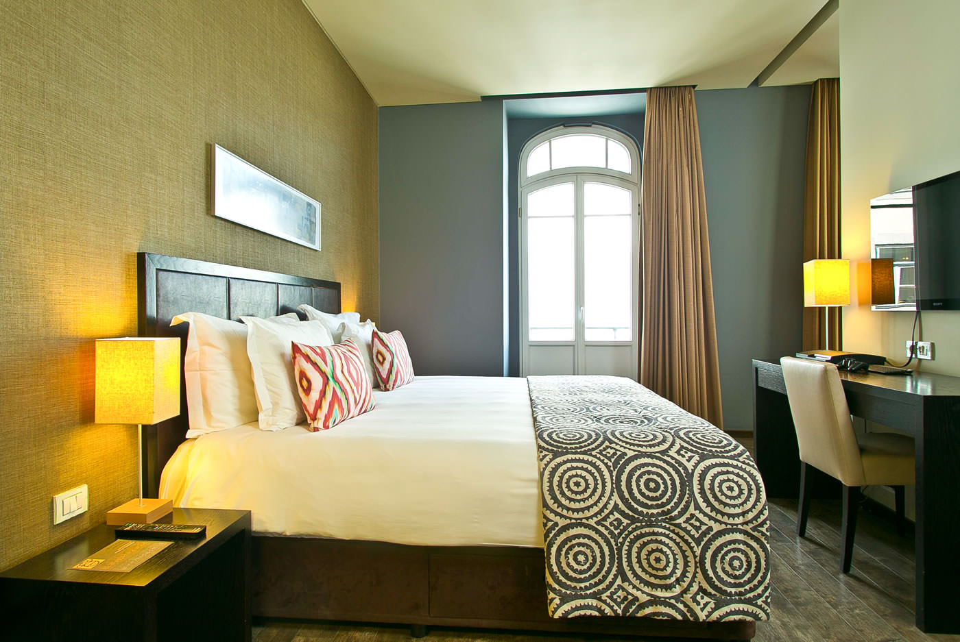 Internacional design hotel boutique hotel in lisbon for Small luxury boutique hotels